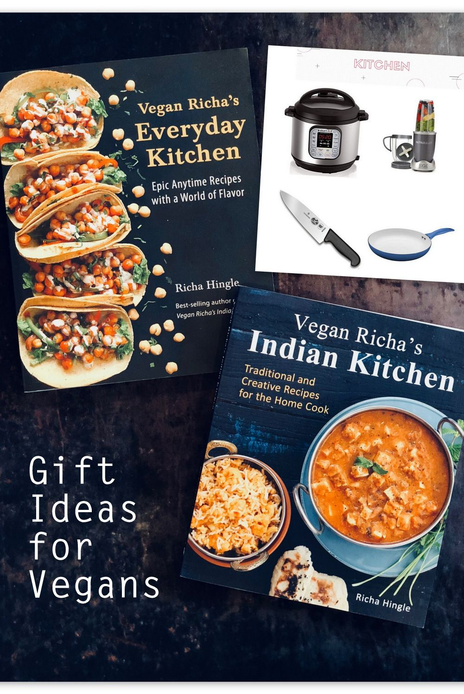 Best Gift Ideas For Vegans This Holiday Vegan Richa Vegan Richa Gifts For Cooks Food