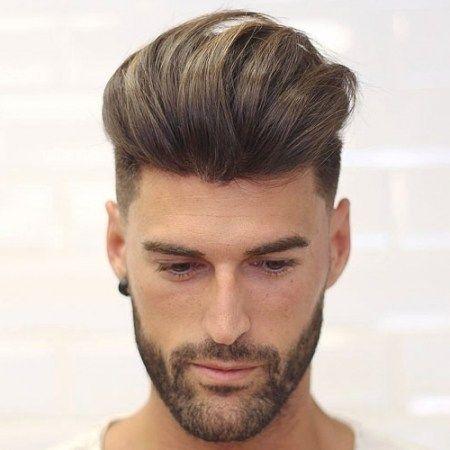 medium frisuren männer inspiration | haartolle