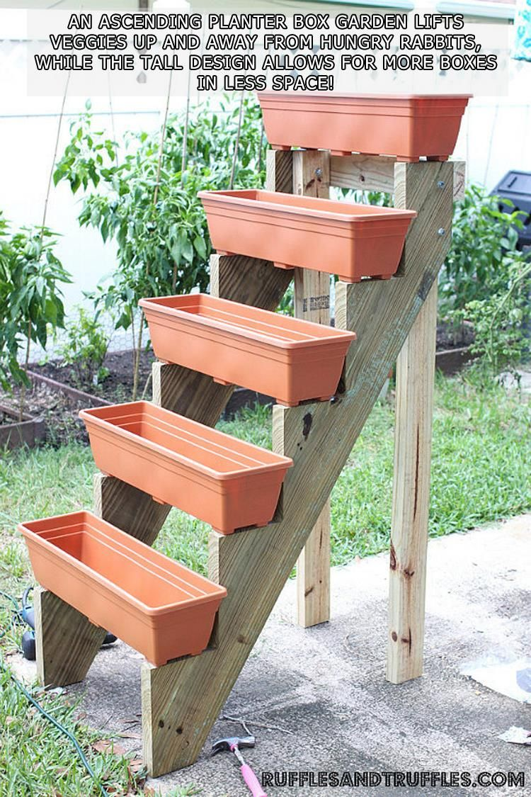 10 Diy Gardening Hacks Diy Planters Outdoor Vertical