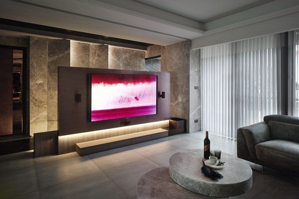 Modern Luxury By Yoma Design With Images Modern Tv Units
