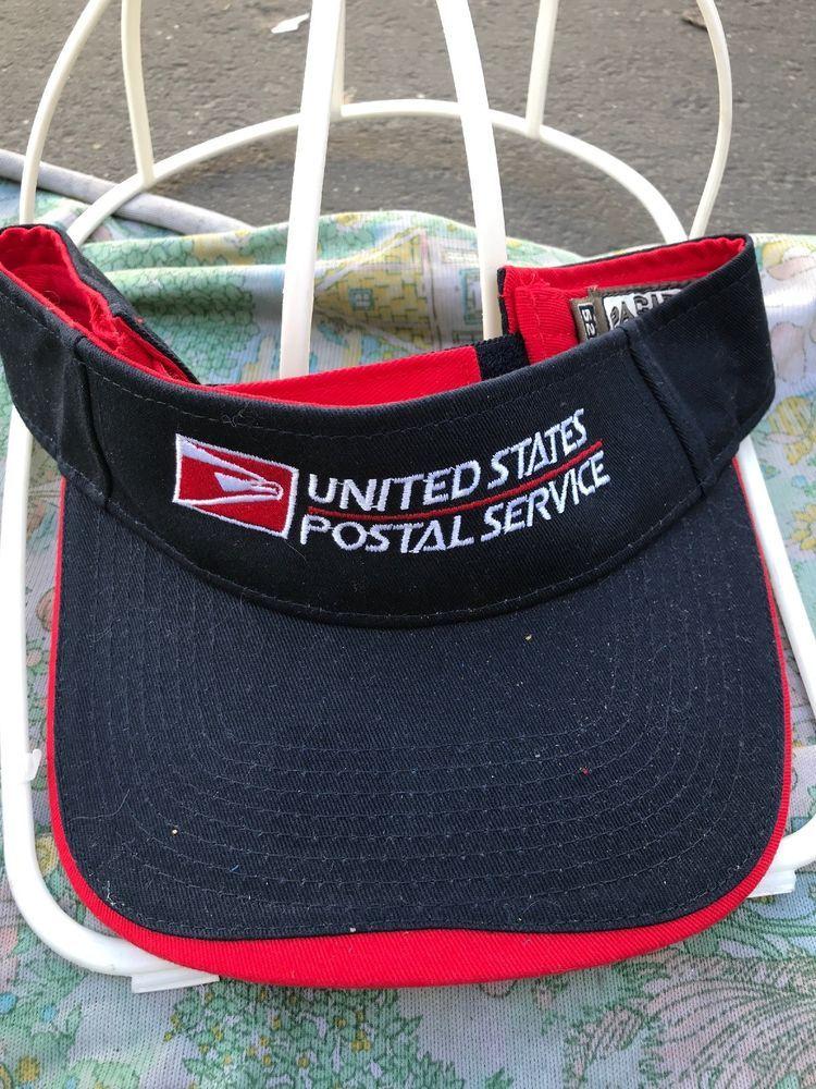 594d9c1b866 USPS Visor Cap Adjustable United States Postal Service Letter Carrier Hat   fashion  clothing