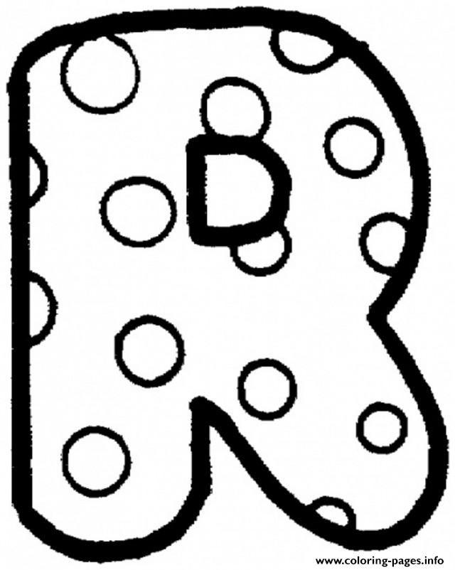 Print Bubble Letter R Coloring Pages Bubble Letters Alphabet Lettering Alphabet Alphabet Coloring Pages