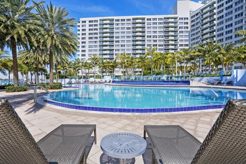 The Pool At Flamingo South Beach Center Tower In Miami Fl