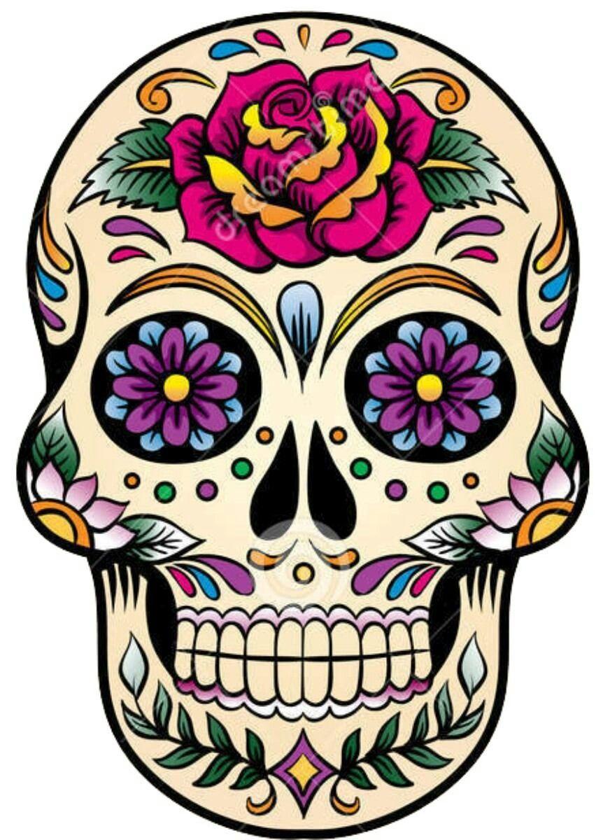Mexican Skull Sugar Skull Tattoos Skull Painting Skull Art