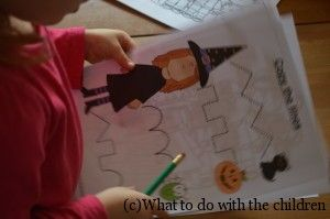 FREE Halloween worksheets -