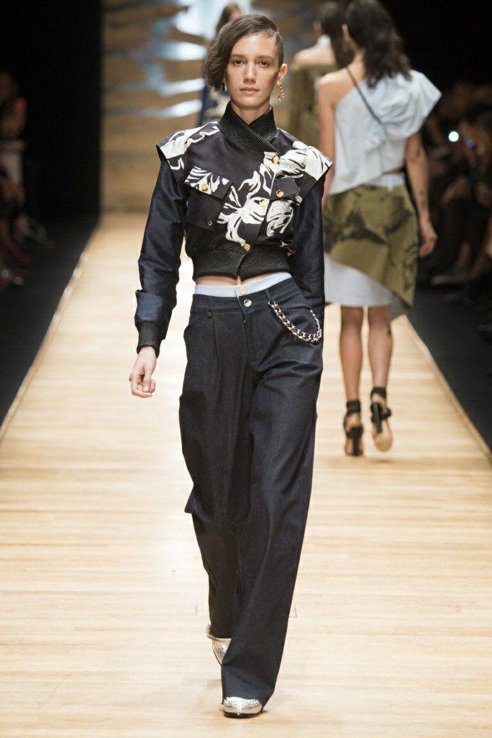 Lange Damenhosen Moderne Hosen Modetrends Style Pinterest