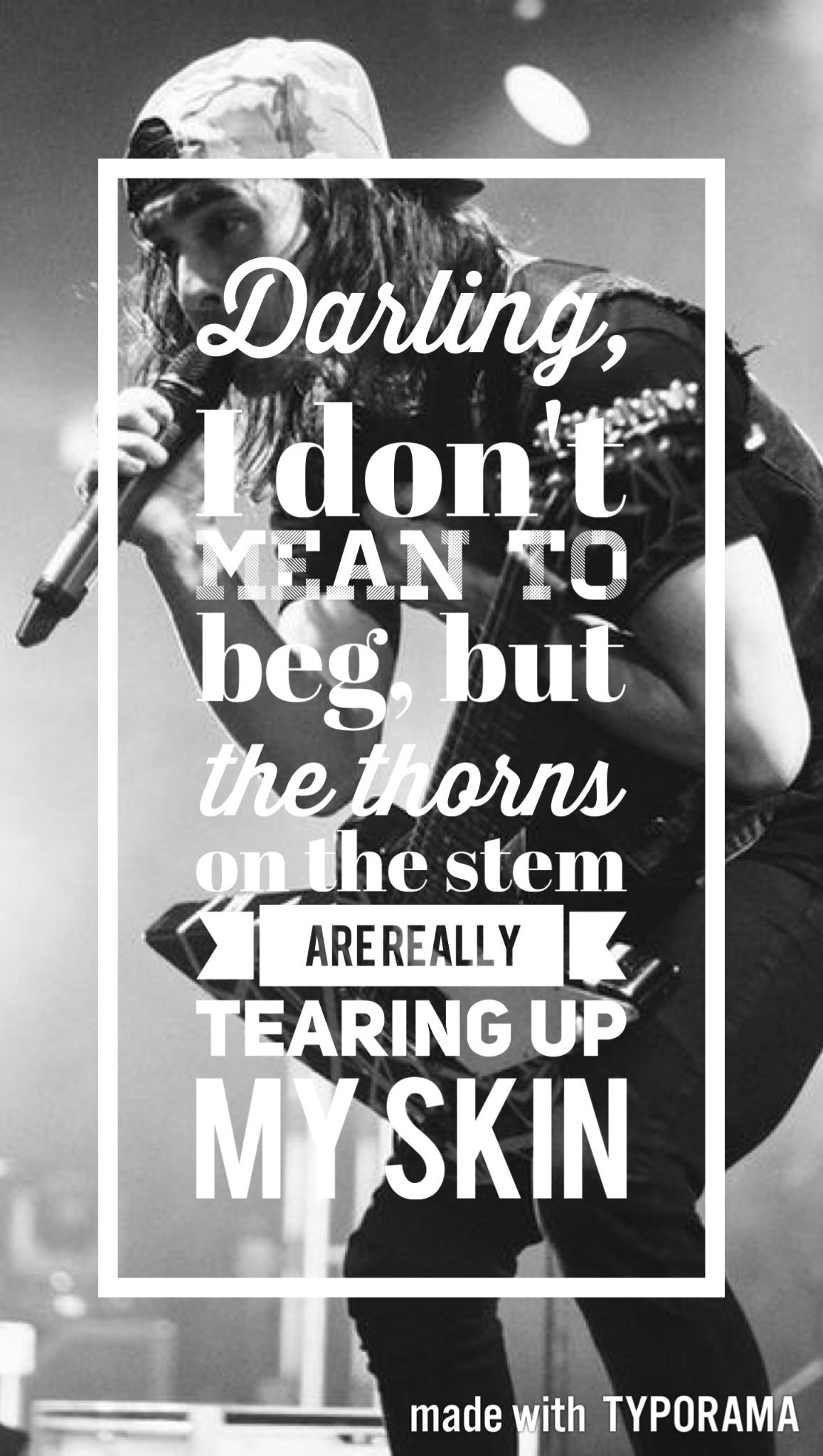 Falling In Reverse Wallpapers For Samsung Pierce The Veil Lyrics Wallpaper Pierce The Veil