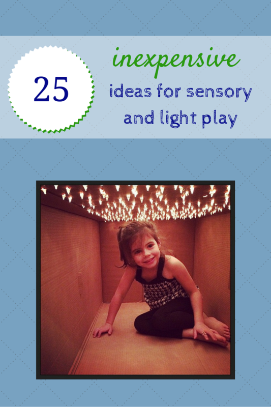 Sensory Integration Room Design: 15 Cheap Light Play And Sensory Play Ideas For Kids