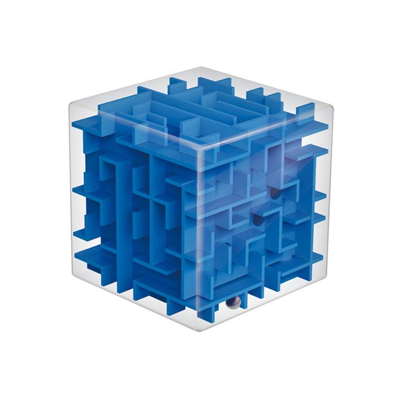 3D Mini Velocità Cubo Labirinto Cubo Magico Puzzle Di Puzzle Game Cubos Magicos Apprendimento Giocattoli Labirinto di Rotolamento della Sfera Giocattoli Per Chilren adulto