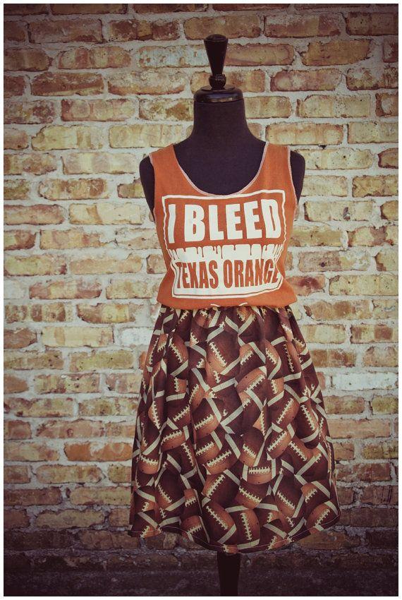 Texas Longhorn T-shirt Gameday Dress Size Small/Medium 2-10 $29.50