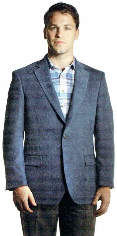 NEW ITEM. Jean-Paul Germain Men's Microfiber Sport Coat. 5 colors ...
