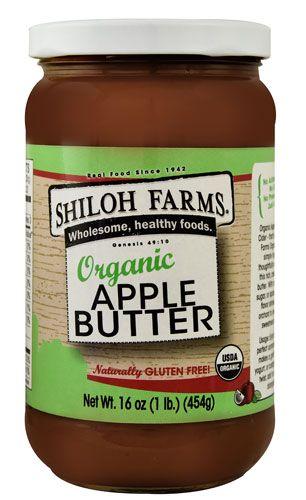 Shiloh Farms Organic Apple Butter -- 16 oz - Vitacost