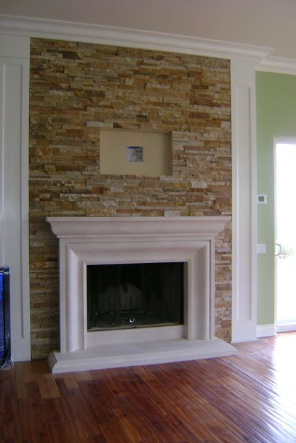 Brick Fireplace With Tv Above Fireplaces Outdoor Fireplace Hardscape Refacing