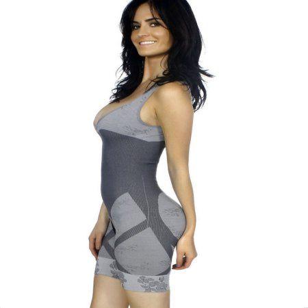 39b05e33bc New Bamboo Charcoal Waist Cincher Body Shapewear For Women-Gray(5 Pack)(L XL)