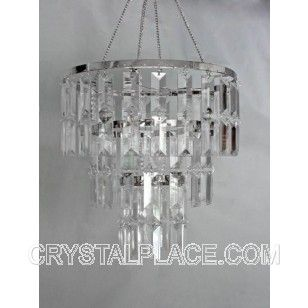 Tiered Faux Crystal Chandelier ACRYLIC CHANDELIERS - Acrylic chandelier crystals bulk