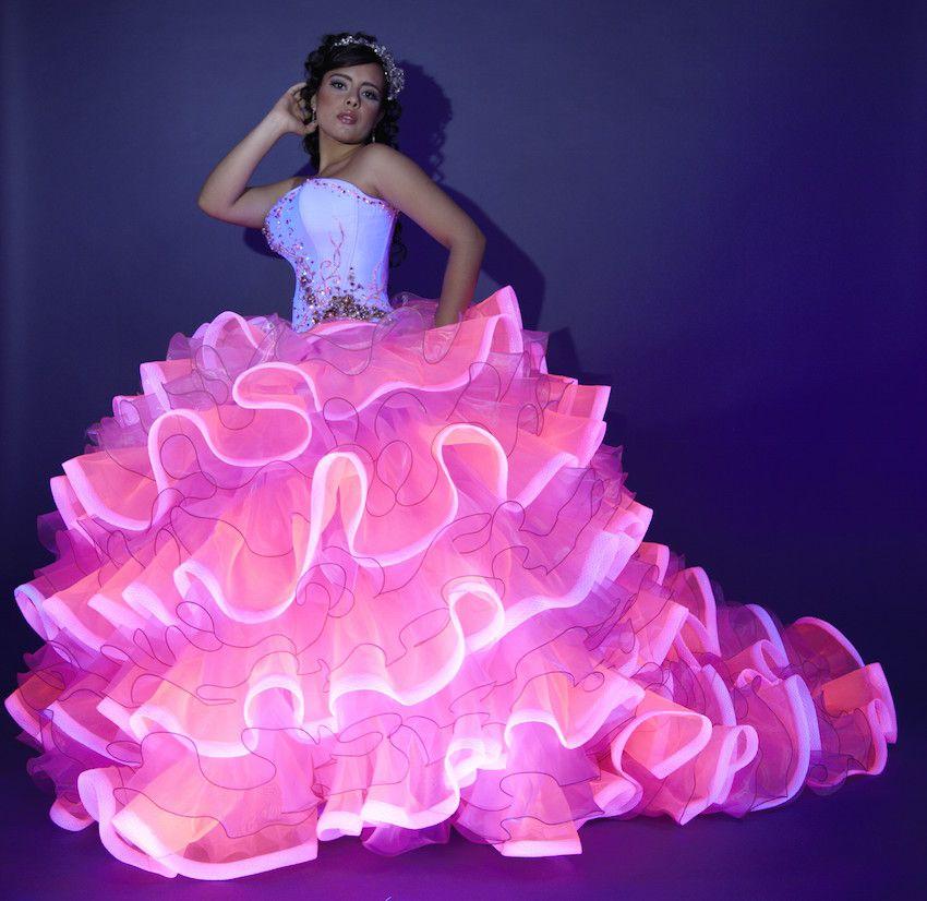 lucrecia fashion | zl novias y quince anos | Pinterest