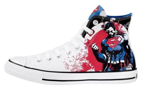 Superman shoes, Converse, Sneakers
