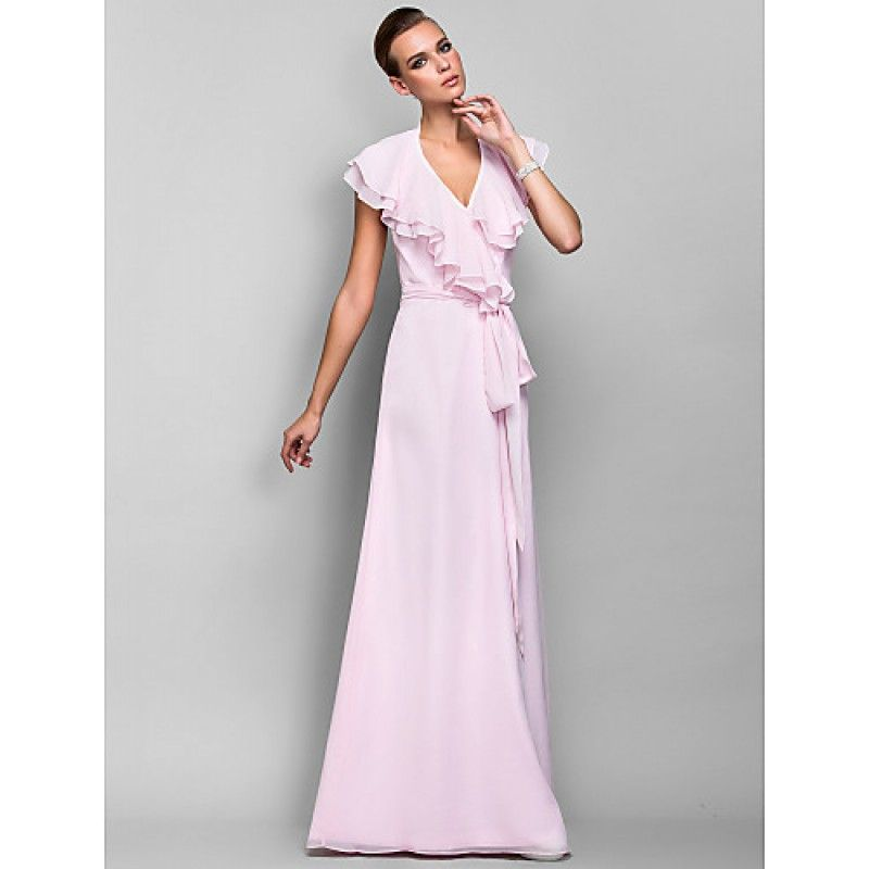 Formal Evening / Prom / Military Ball Dress - Blushing Pink Plus ...