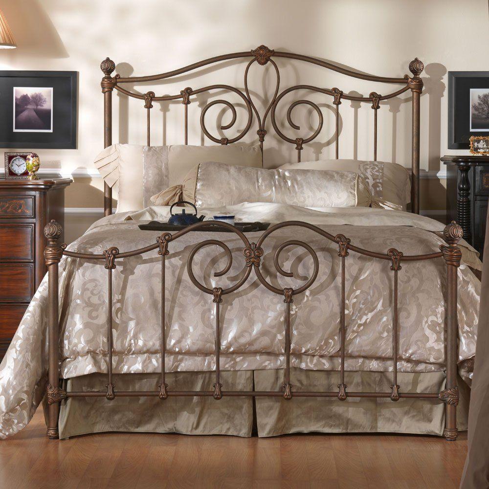 Wesley Allen Olympia King Headboard Wrought iron beds