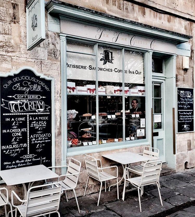 The Fine Cheese Co 29 31 Walcot St Bath England Salon De Thé Façade De Magasin Facade