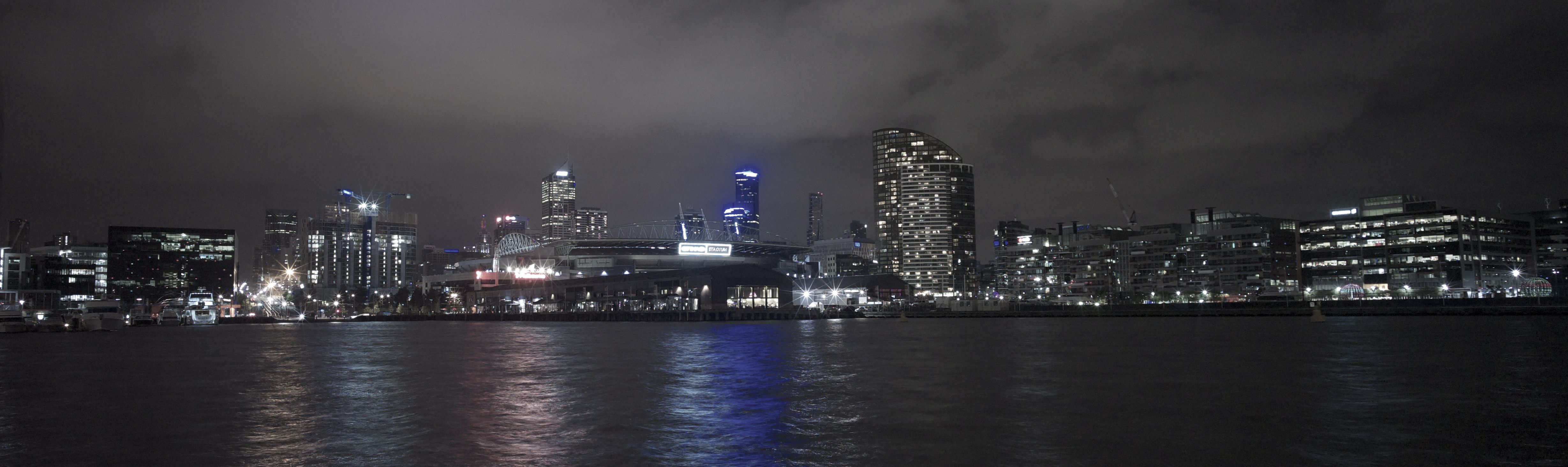 Melbourne from Docklands
