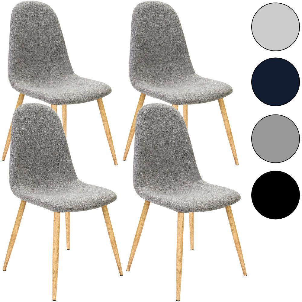 4x esszimmerstühle retro stuhl stoff sitzgruppe designer stühle ... - Stühle Für Küche