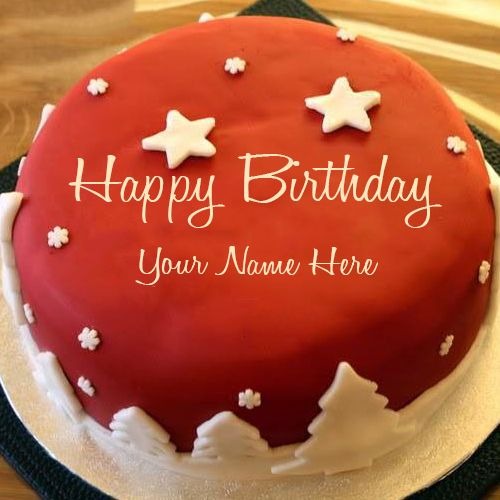 Write Your Name On Star Birthday Cake Online Free Edit Your Lover