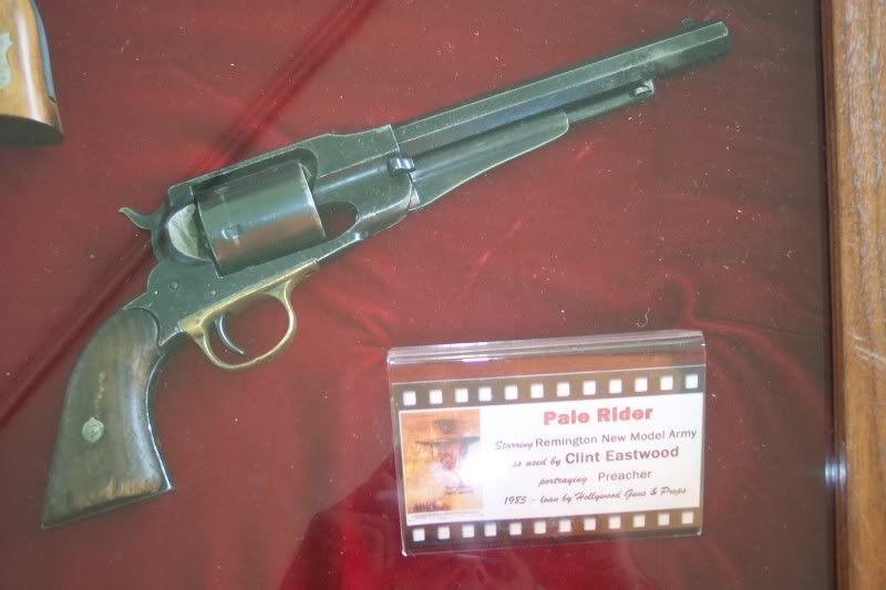 Remington New Model Army Revolver used by Clint Eastwood in the