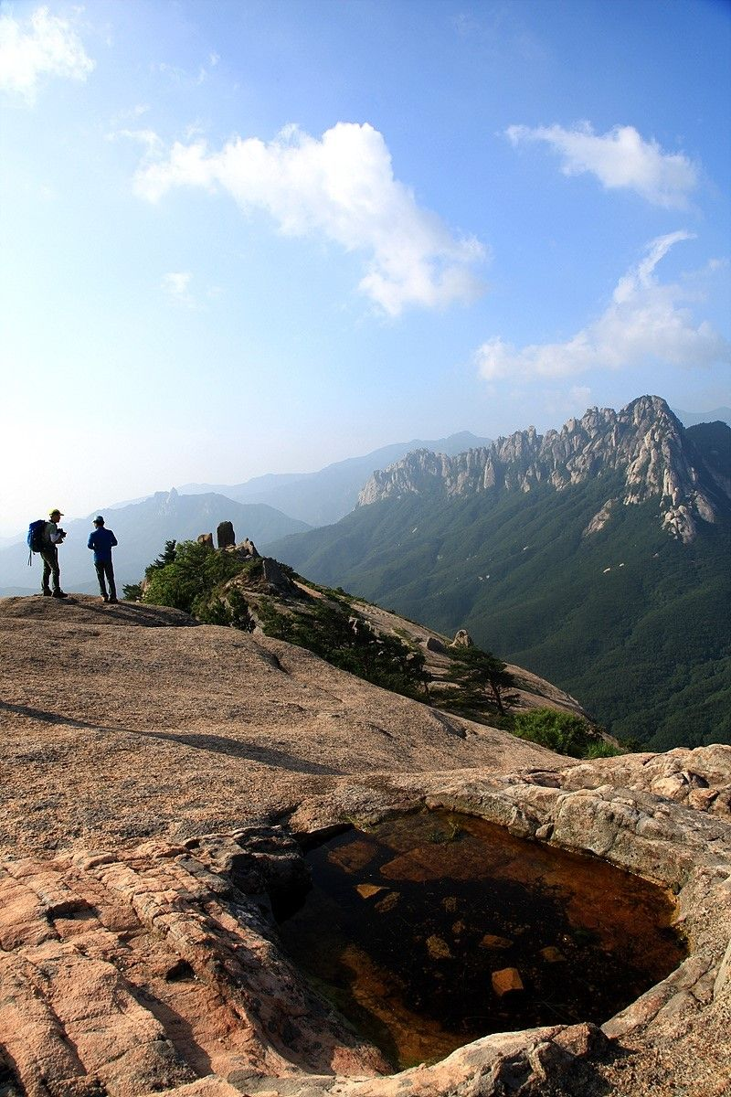 #Misiryeong Ridge, Taebaek Mountains, Gangwon Province, Korea | 미시령