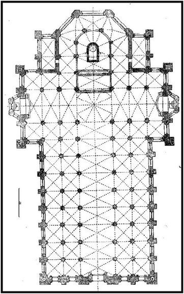 Italian Gothic Milan Cathedral Plan Milan Cathedral Cathedral How To Plan