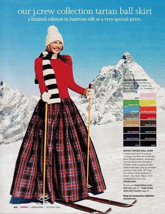 a46ed5349 Vintage j crew tartan ball skirt. OK