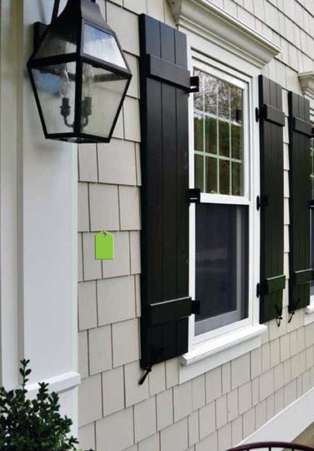 James Hardie Shutters House Paint Exterior Exterior Paint