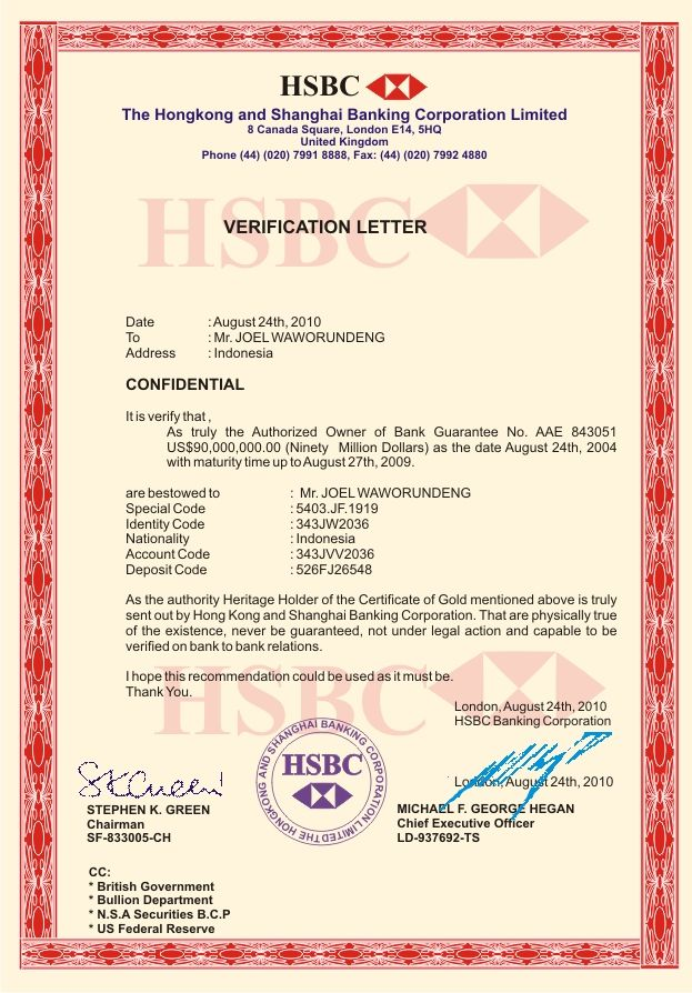 Letter sample bank account verification certification hsbc for letter sample bank account verification certification hsbc for balance tallyerp hindi yelopaper Choice Image