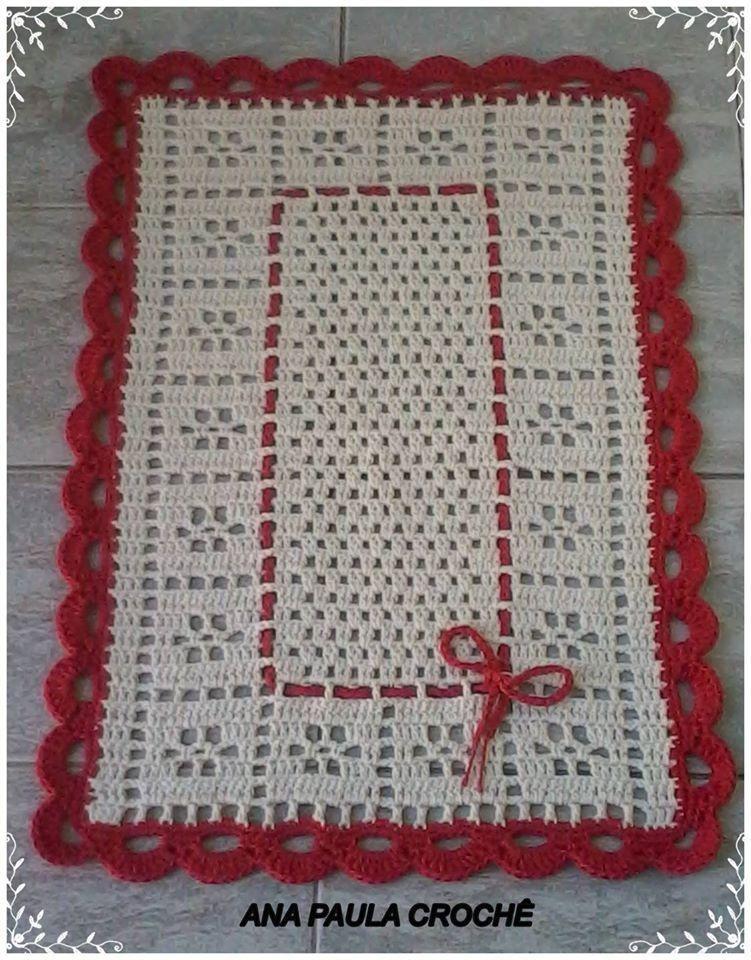 Tapete lindo e fácil.   Croche   Pinterest   Tapetes, Ganchillo y Tejido