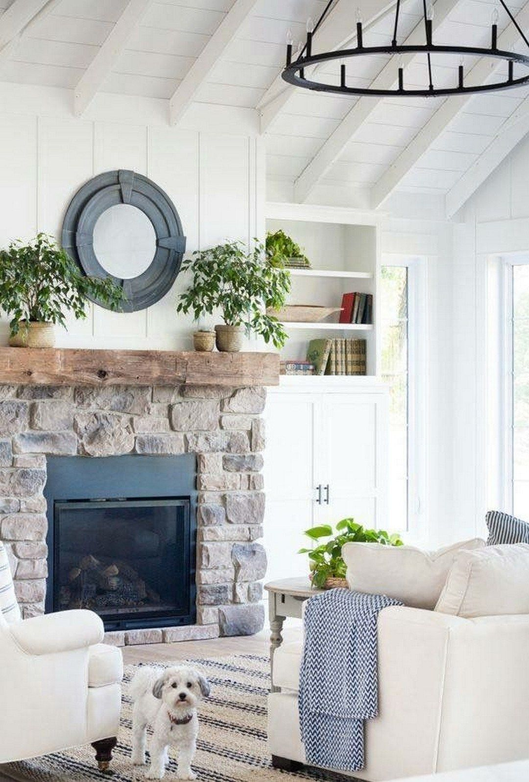 Fireplace Design Idea Modern Farmhouse Fireplace Design Ideas 20 Living Rooms Decor