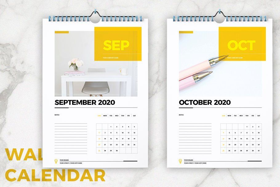 Wall Calendar 2020 Layout Ad Layout Cool Indesign Adobe Affiliate Affiliate Calenda Calendar Template Wall Calendar Calendar 2020