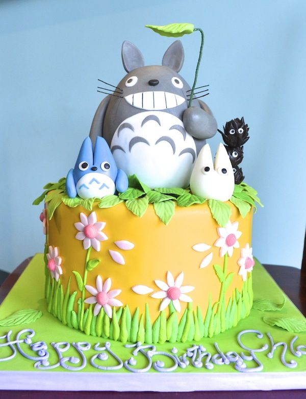 Totoro Birthday Cake Do You See How Awesome This Is Birthday