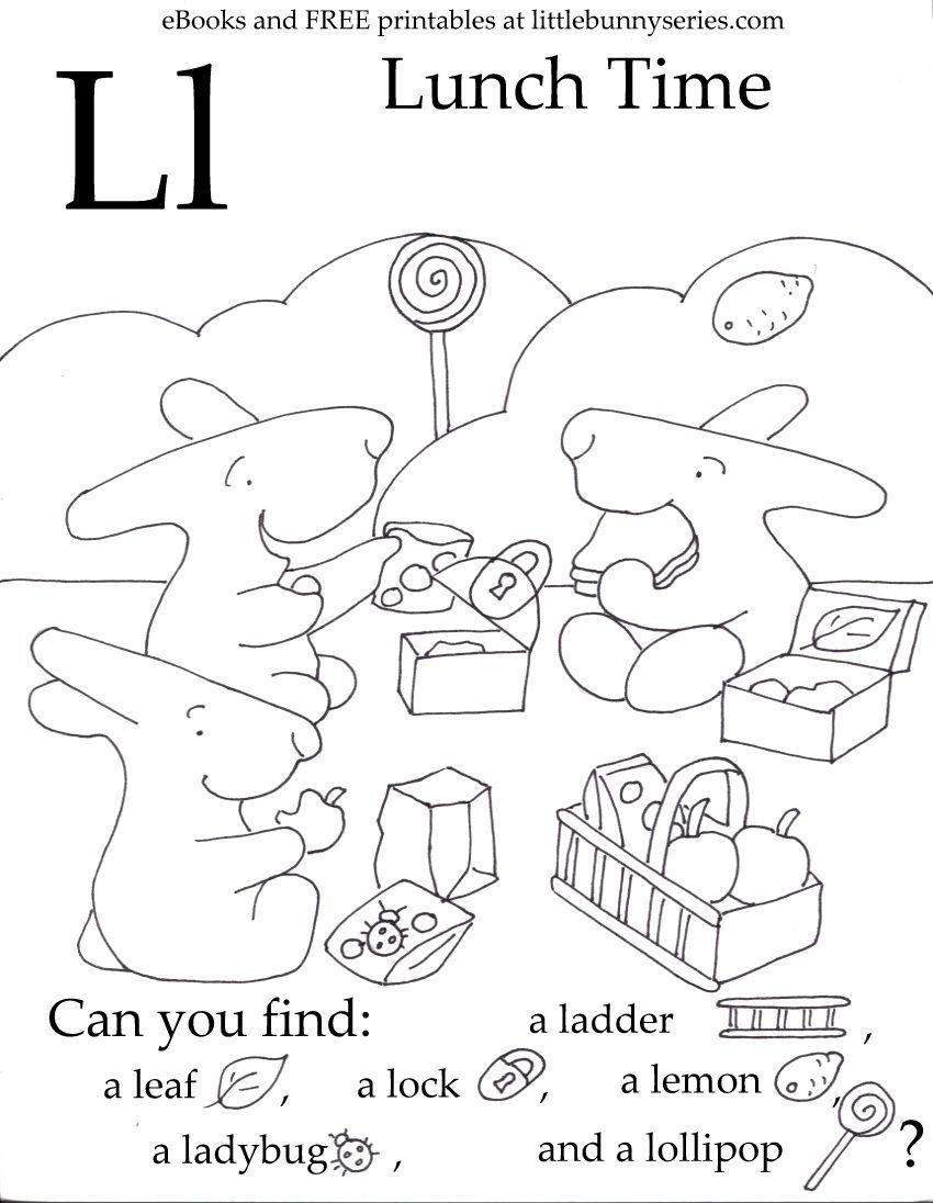 Letter L Seek And Find Pdf Hidden Pictures Fun Preschool Worksheets Preschool Letters [ 1096 x 850 Pixel ]