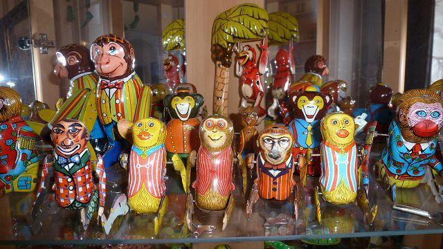 Collection Blechspielzeug Spielzeug Clowns