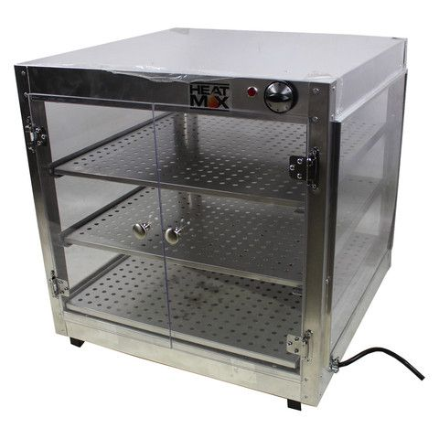 Commercial 24 X 24 X 24 Countertop Food Pizza Pastry Warmer