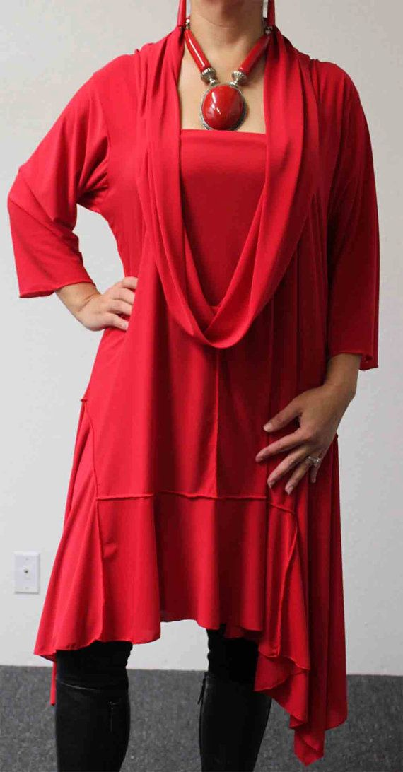 New Crazycuts long lagenlook Plus Size and by Dare2bStylish, $79.00