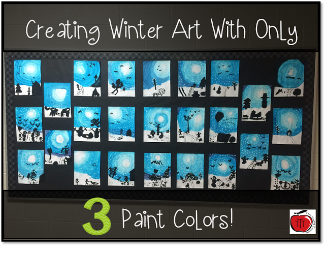 Who S Who And Who S New Winter Art That Teaches Color Value