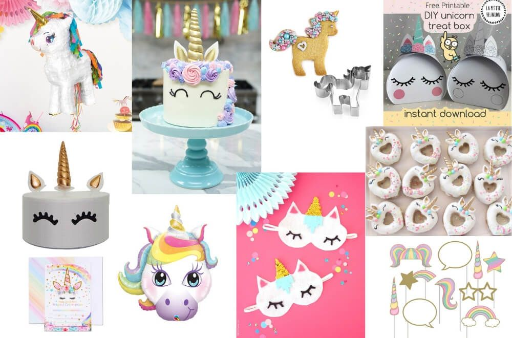 MASSIVE LIST OF THE BEST kids party games Unicorn party