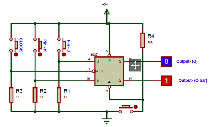 Cd4027 Circuit Diagram In 2020 Flip Flops Circuit Diagram Flipping