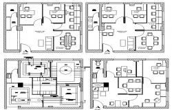 Interior Design Extensive Cad Files Of Drawing Room Pray Room