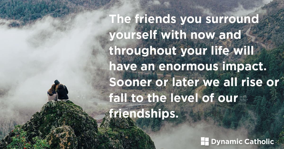 Godly Friendships! Catholic theology, Catholic, Our