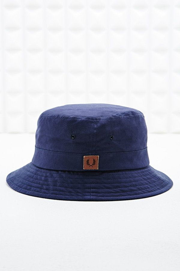 b20766fa8 Fred Perry Bucket Hat in Blue on shopstyle.co.uk   18fw   Hats ...