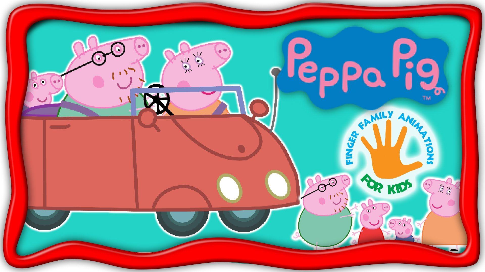Peppa Pig Finger Family Nursery Rhymes  Peppa Pig Daddy Finger Song