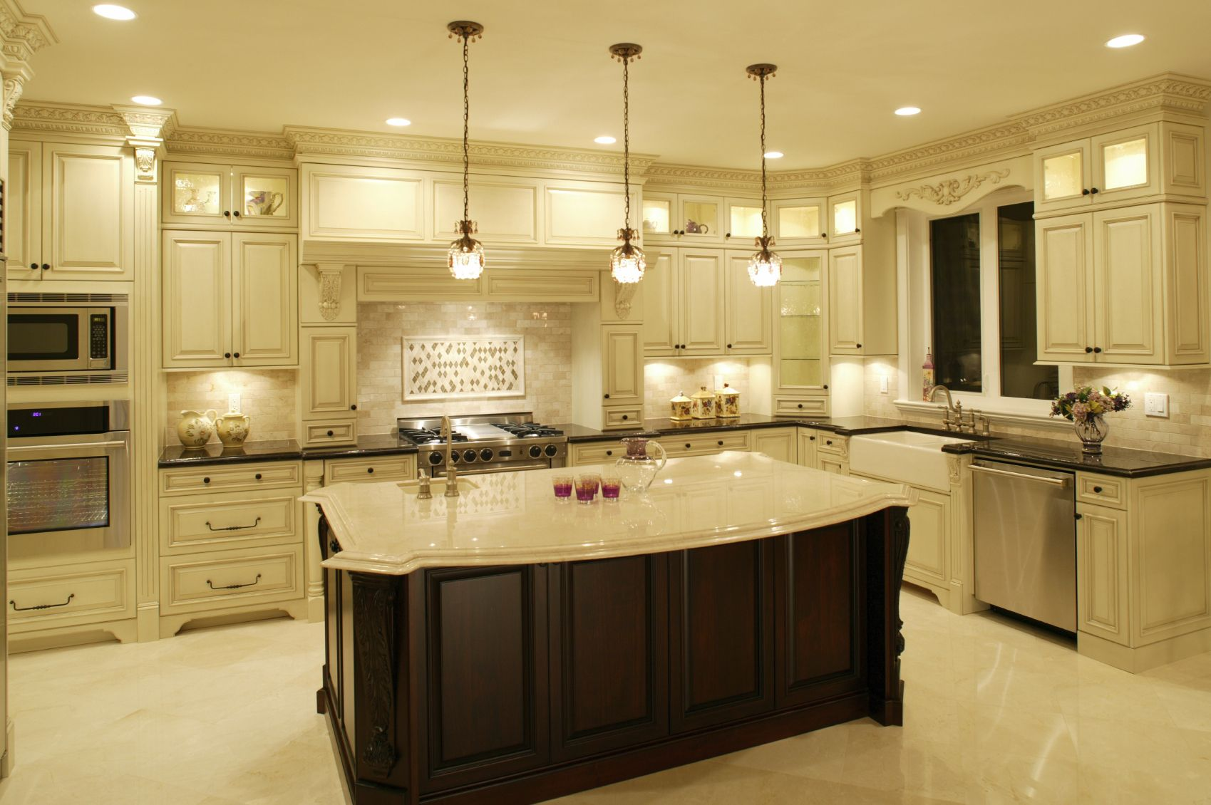 124 Custom Luxury Kitchen Designs Part 1 Dark Wood. Long Kitchen Island Ideas. Kchen Island Long Kchen Island Table Whe Long Modern. Long Narrow Kitchen Designs Posted On April 20 2013 By
