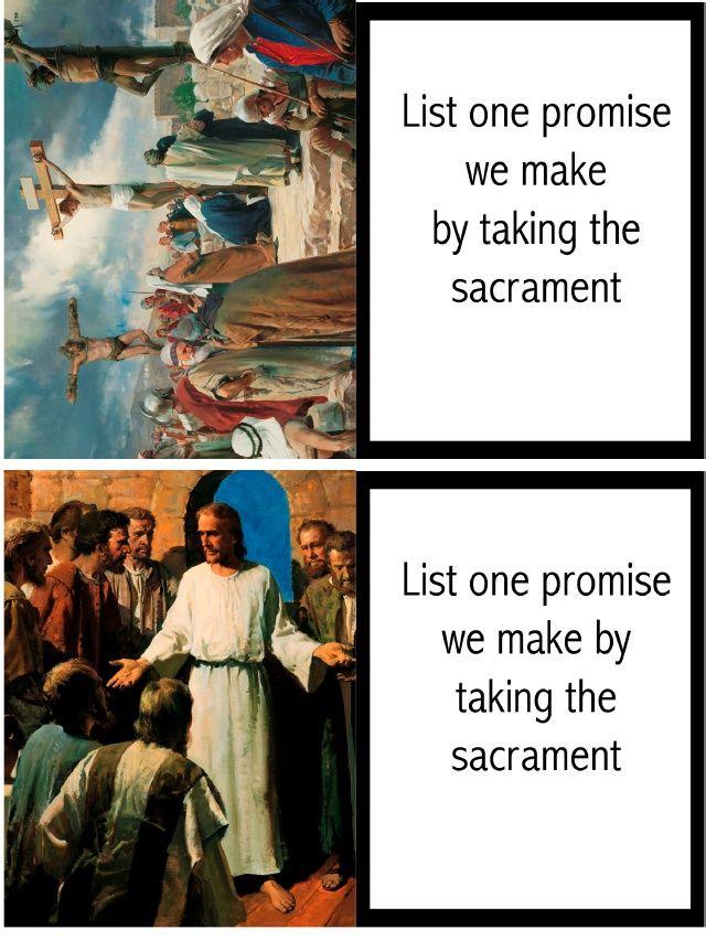 Sacrament Meeting and the Sacrament FHE